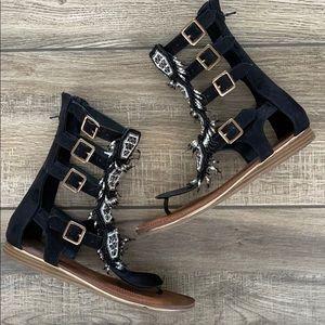 CARLOS SANTANA Taos Gladiator Sandals